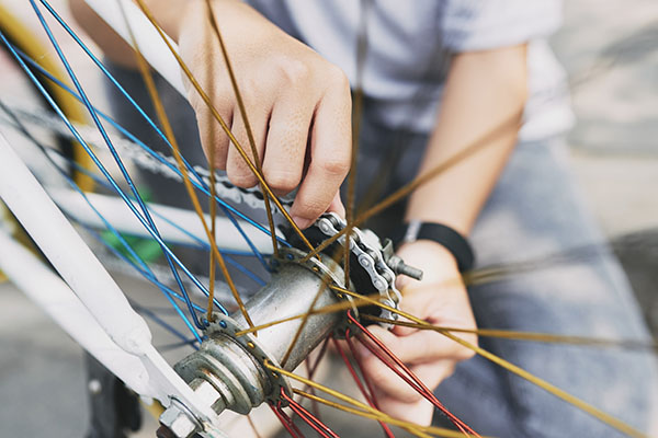 自転車屋のアルバイト